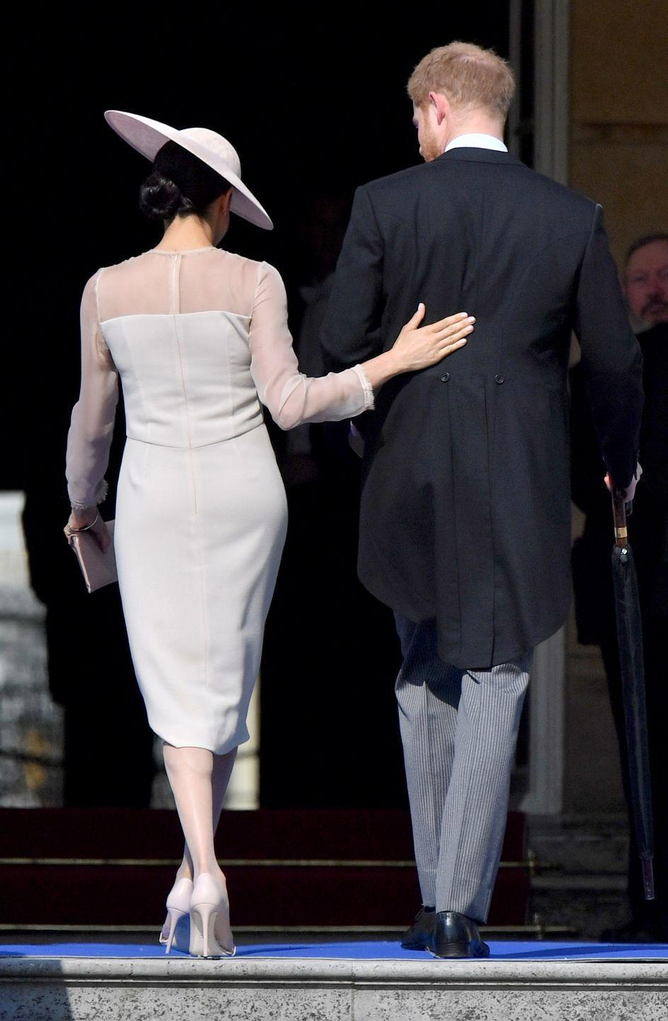 <p>Meghan and Harry. Hand. Love.</p><p>Need we say more? </p>