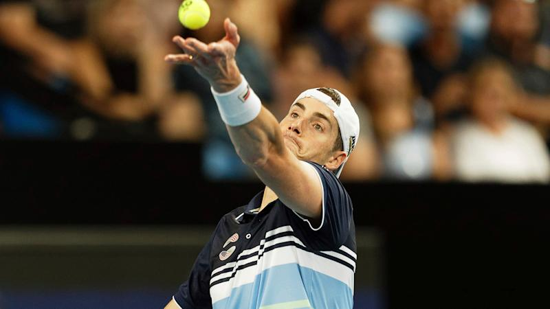 Lopez doubles up, ousts top seed Fognini