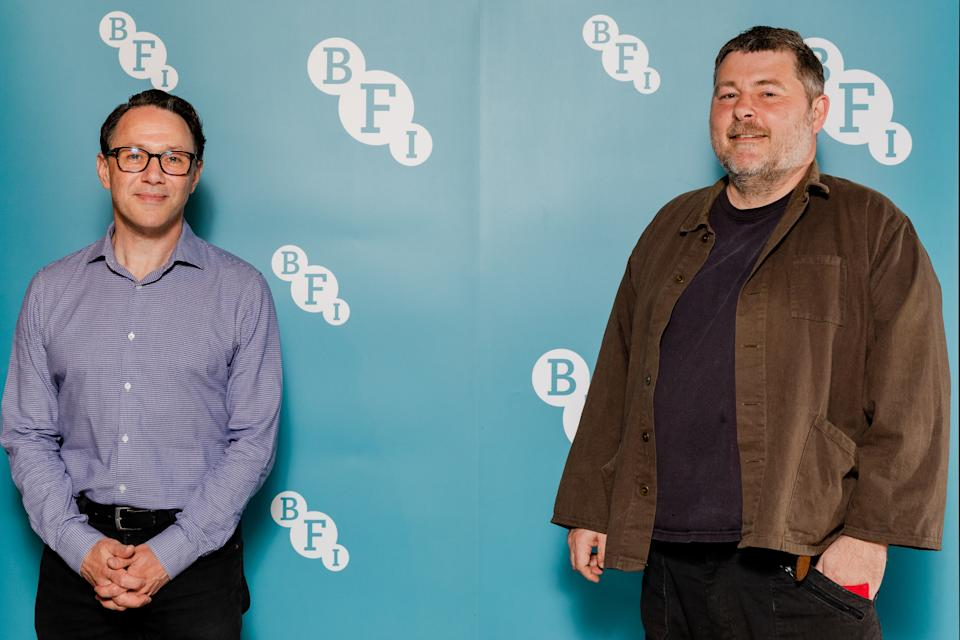 LONDON, ENGLAND - JUNE 10:  Reece Shearsmith and Ben Wheatley attend a special screening of