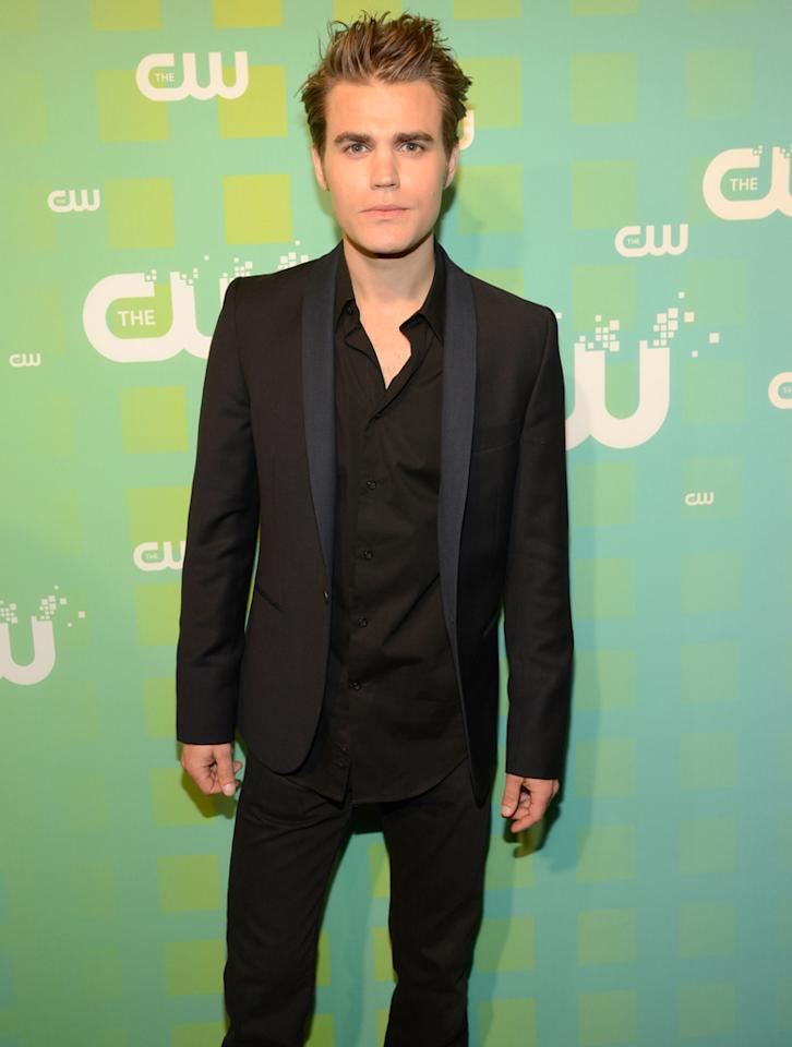 """Paul Wesley (""""The Vampire Diaries"""") attends The CW's 2012 Upfronts on May 17, 2012 in New York City."""