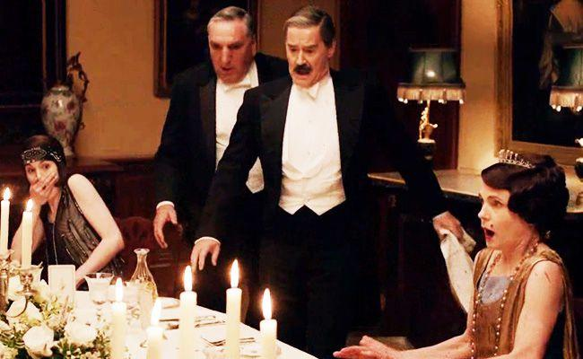 people are losing it over this downton abbey red