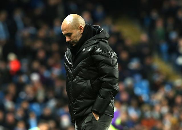 Manchester City are now 14 points behind Premier League leaders Liverpool. (Getty Images)