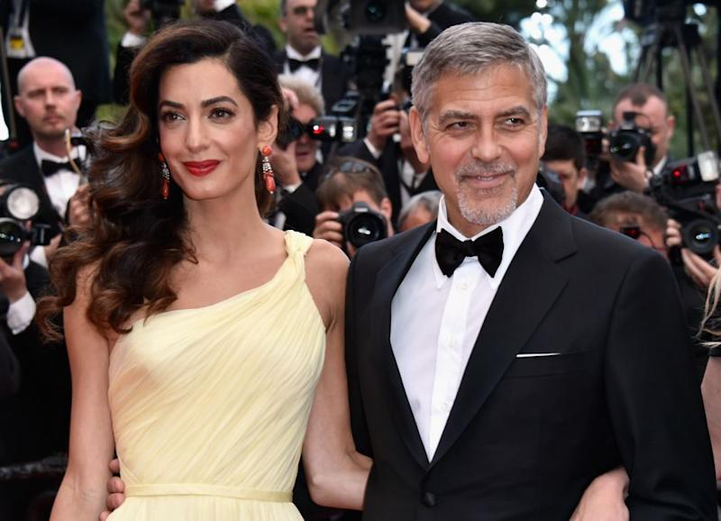 George and Amal had a natural glow at the 2016 Cannes Film Festival. Source: Getty