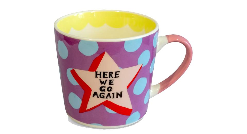 Eleanor Bowmer 'Here We Go Again' Mug
