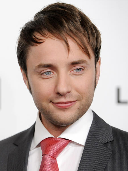 "FILE - This March 20, 2013 file photo shows actor Vincent Kartheiser, a cast member in ""Mad Men,"" at the season six premiere of the drama series at the Directors Guild of America in Los Angeles. Kartheiser will star this summer in a new Guthrie production of ""Pride and Prejudice"" as the brooding hero of Jane Austen's most famous novel. The show, which will be directed by the Guthrie's leader Joe Dowling, will play from July 6-Aug. 31. It will mark the 200th anniversary of the publication of Austen's novel. (Photo by Chris Pizzello/Invision/AP, file)"