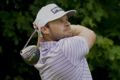 Hatton back in familiar surroundings, leads at Wentworth