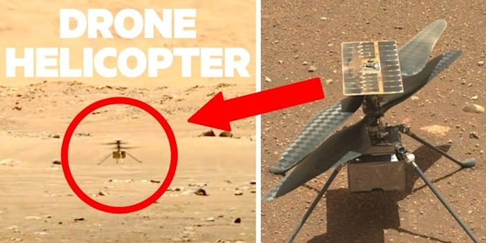 Mars Helicopter 2X1