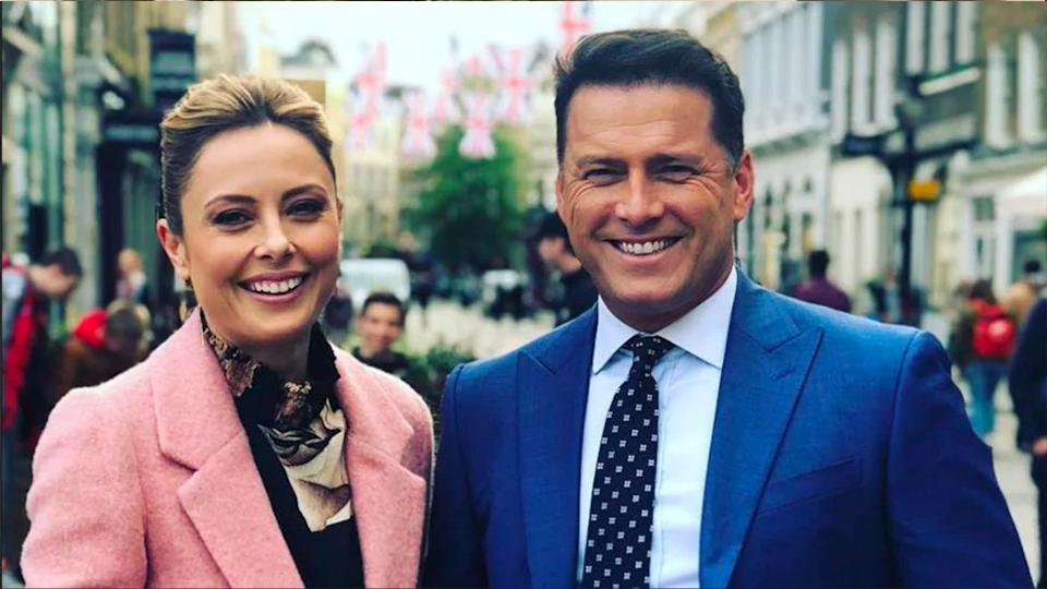 Karl made his return to hosting Today alongside Allison Langdon in early 2020. Photo: Channel Nine.