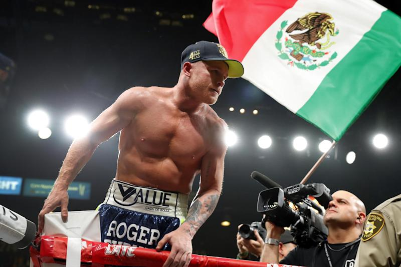 Canelo will fight behind closed doors in September: Getty Images