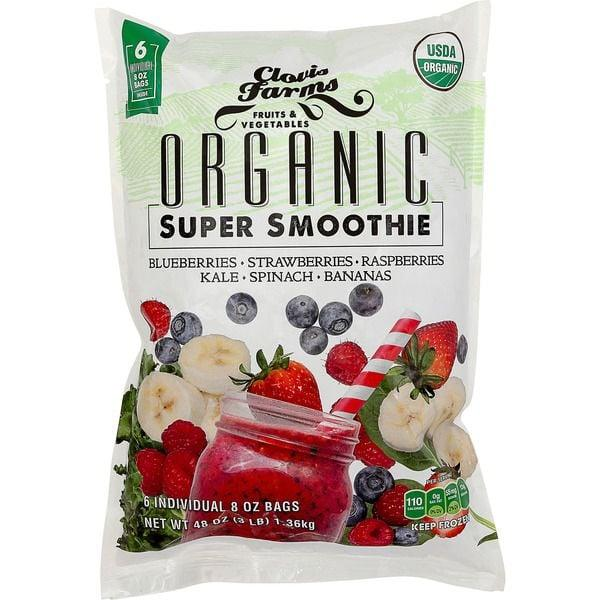 """<p>It's hard to choose a favorite frozen fruit at Costco . . . the strawberries, the blueberries, the mango . . . it's all good as a base for a <a href=""""https://www.popsugar.com/food/Smoothie-Recipes-Keep-You-Full-37275548"""" class=""""ga-track"""" data-ga-category=""""Related"""" data-ga-label=""""https://www.popsugar.com/food/Smoothie-Recipes-Keep-You-Full-37275548"""" data-ga-action=""""In-Line Links"""">filling smoothie</a>. This particular <a href=""""https://www.instacart.com/store/items/item_541580913"""" target=""""_blank"""" class=""""ga-track"""" data-ga-category=""""Related"""" data-ga-label=""""https://www.instacart.com/store/items/item_541580913"""" data-ga-action=""""In-Line Links"""">three-pound organic super smoothie mix</a> contains all the fruits you love: strawberries, raspberries, bananas, and blueberries.</p>"""