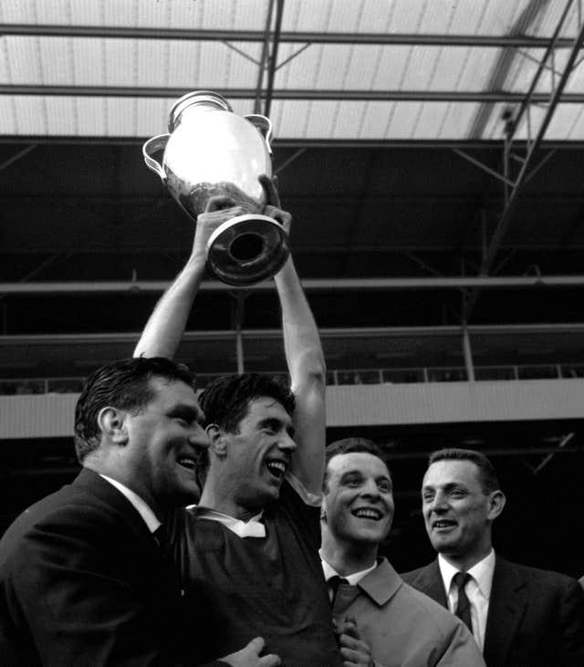 Milan win the European Cup at Wembley