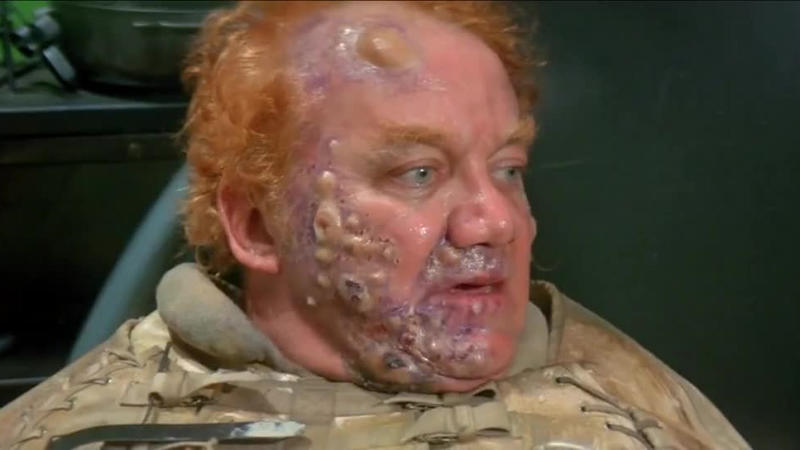 Kenneth McMillan as Baron Vladimir Harkonnen in the 1984 version of 'Dune', directed by David Lynch. (Credit: Universal)