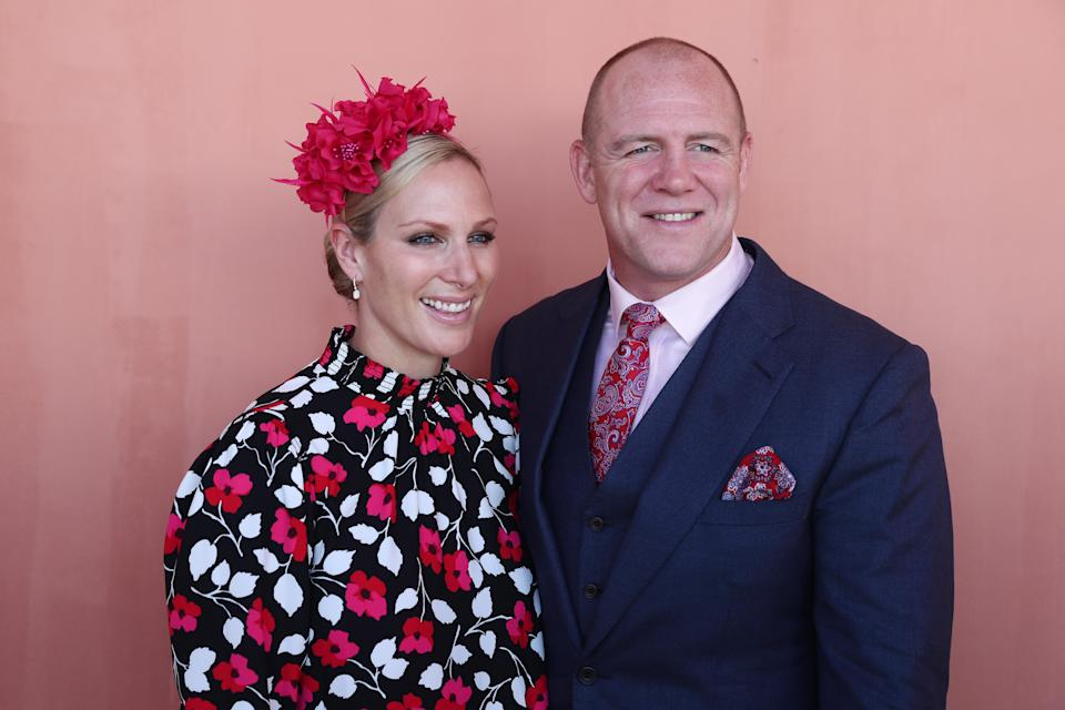 GOLD COAST, AUSTRALIA – JANUARY 12: Mike and Zara Tindall attends the Magic Millions Raceday at the Gold Coast Turf Club on January 12, 2019 in Gold Coast, Australia. (Photo by Chris Hyde/Getty Images)