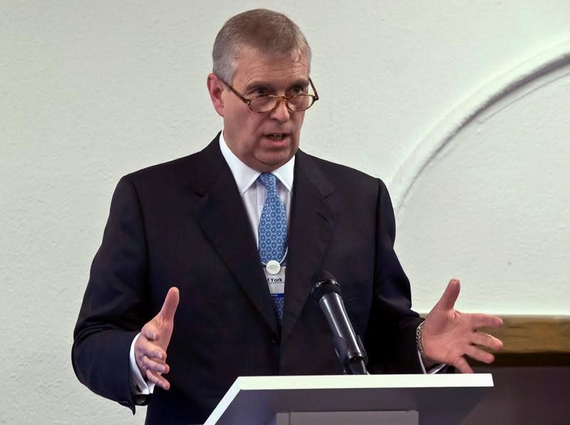 Prince Andrew's accuser asks UK public for support