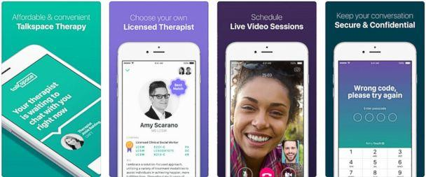 PHOTO: Talkspace Online Therapy (Apple Store)