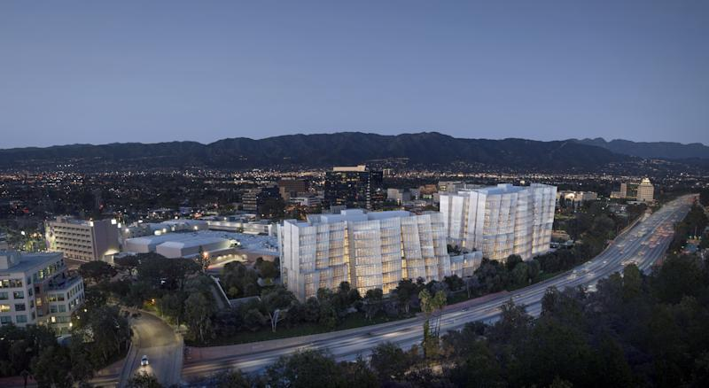 Two Frank Gehry Buildings Will Be a Part of Warner Bros. Office Expansion