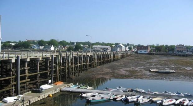 While concrete isn't a material used much in the old buildings that line Water Street, Naish says a concrete wharf won't take away from the historic community's ambience.