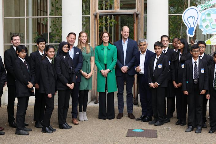The Duke And Duchess Of Cambridge Take Part In A Generation Earthshot Event At Kew Gardens (WPA Pool / Getty Images)