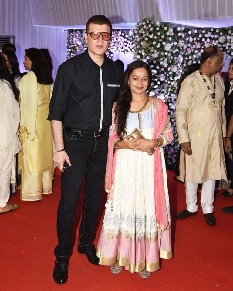 <p>Though marriage for them has been quite a rocky ride, Aditya Pancholi and Zarina Wahab are together and have been so for over 3 decades now. They met on the sets of <em>Kalank Ka Tika, </em>and though 6 years younger than the lady, Aditya was taken in by Zarina's charm. They were dating by the time the shoot completed and got married in 1986. </p>