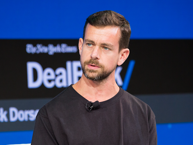 Twitter CEO Jack Dorsey at a New York Times event. (Getty)