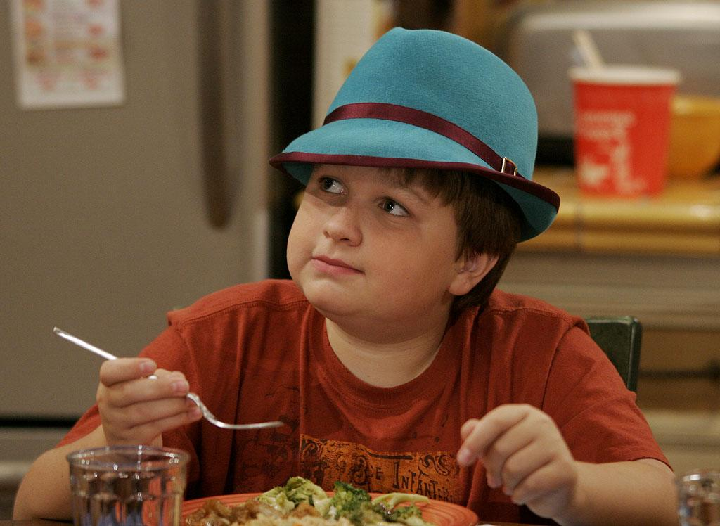 Angus T. Jones stars as Jake in Two and a Half Men on CBS.