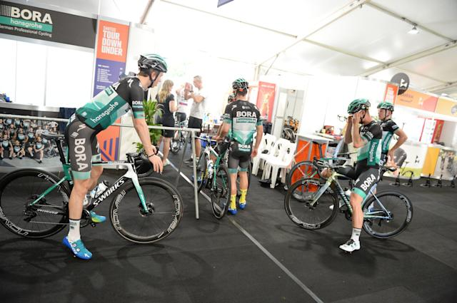 Bora-Hansgrohe at the Tour Down Under