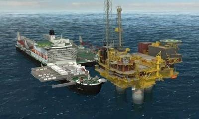 Shell using giant vessel to dismantle North Sea oil rigs