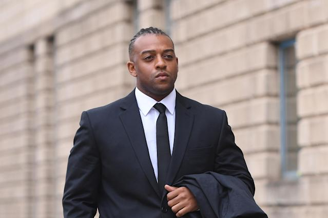 Oritse Williams stood trial for rape last year and was cleared of all charges (PA)