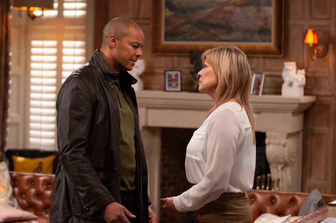 <p>When she finds out Graham is stealing from her, she warns Al that she wants Graham dead by the end of the day.</p>