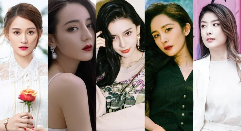 Japanese netizens ranked the top 10 most beautiful Chinese actresses in a survey on the website Everyone's Ranking.