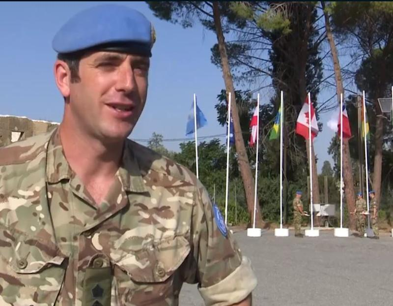 Lieutenant Colonel Andy Pearce, Commanding Officer of 6th Battalion, The Rifles Regiment