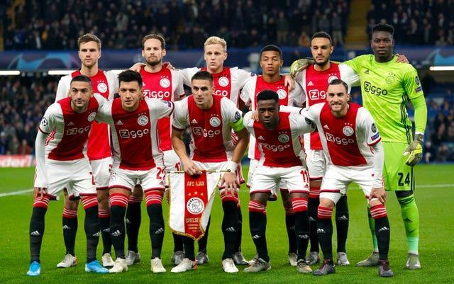 Ajax are not among the clubs to sign up
