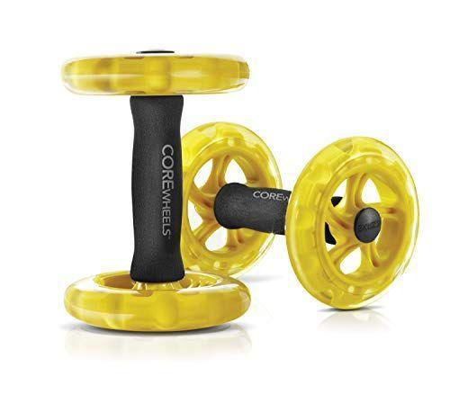 """<p><strong>SKLZ</strong></p><p>amazon.com</p><p><strong>$34.50</strong></p><p><a href=""""https://www.amazon.com/dp/B00C81JUS2?tag=syn-yahoo-20&ascsubtag=%5Bartid%7C2140.g.32840936%5Bsrc%7Cyahoo-us"""" rel=""""nofollow noopener"""" target=""""_blank"""" data-ylk=""""slk:Shop Now"""" class=""""link rapid-noclick-resp"""">Shop Now</a></p><p>Power up your bodyweight plank and pushup exercises with these lightweight abs rollers made for core-strengthening. Supporting yourself on an unstable surface forces your core to work harder to keep you stable. </p>"""