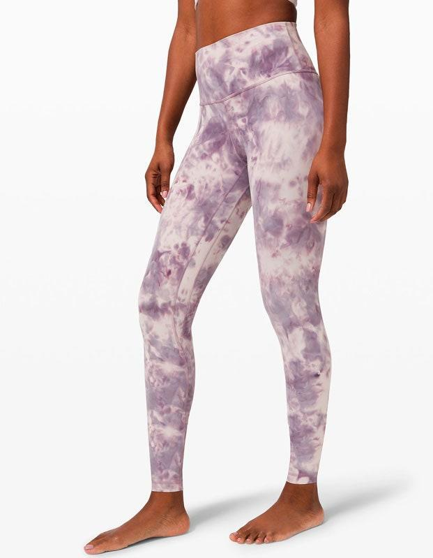 "$118, Lululemon. <a href=""https://shop.lululemon.com/p/womens-leggings/Align-Pant-28-DiamondDye-MD/_/prod10030297"" rel=""nofollow noopener"" target=""_blank"" data-ylk=""slk:Get it now!"" class=""link rapid-noclick-resp"">Get it now!</a>"