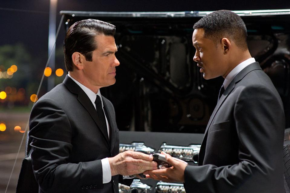 "Josh Brolin and Will Smith in Columbia Pictures' ""Men in Black 3"" - 2012"