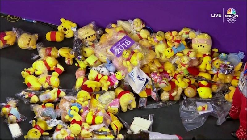 Why fans threw Winnie the Pooh dolls at Olympic skater Yuzuru Hanyu