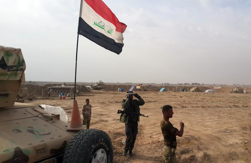 Iraqi troops and members of Kurdish and Shiite militias recaptured the Adhaim dam from Islamic State jihadists after fierce clashes in Diyala province, which borders Iran, on November 14, 2014