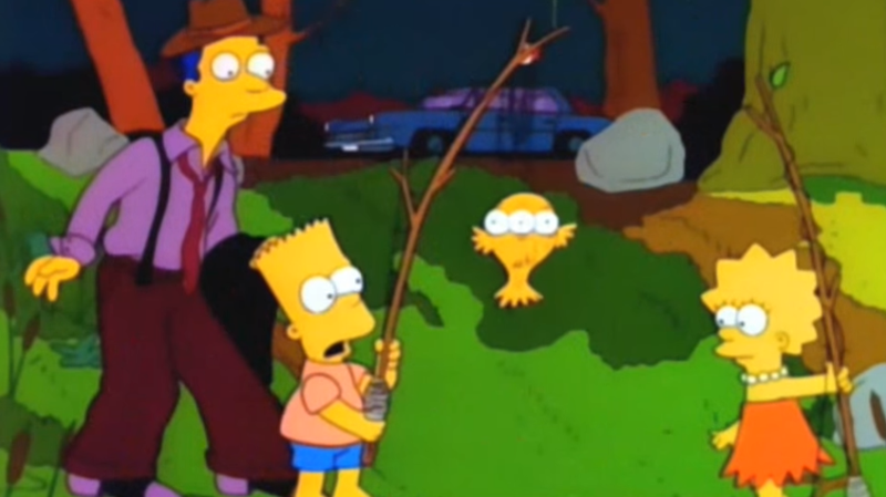A more literal Simpsons mutation.