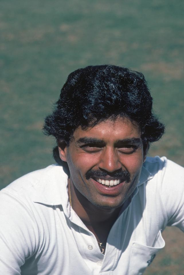 Indian cricketer Dilip Balwant Vengsarkar, November 1984. (Photo by Adrian Murrell/Getty Images)