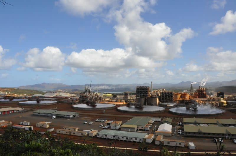 General view of Prony Resources' operations in New Caledonia