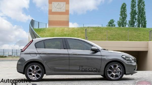 The New Fiat Punto Is Expected To Debut In International Markets Next Year Ahead Of Its Official Launch Freshly Rendered Images 2017