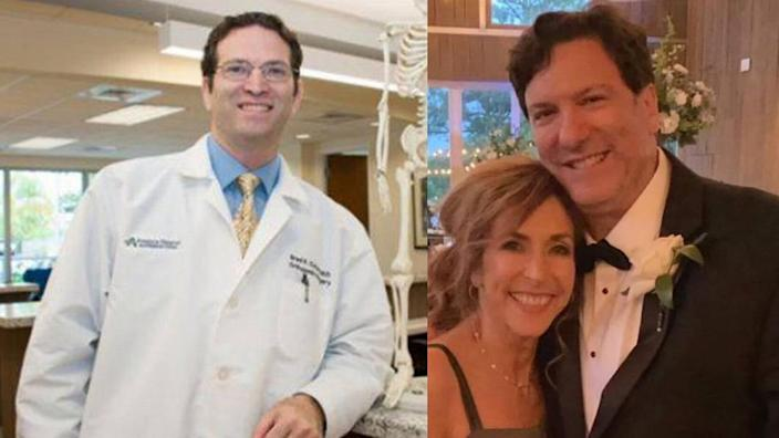 Brothers Brad, left, and Gary Cohen, both doctors and devoted fathers, are missing after the Champlain Towers South condo collapsed in Surfside.