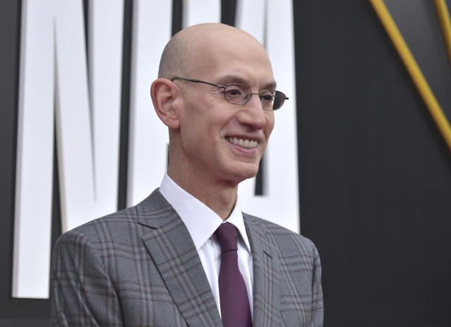 "Adam Silver has indicated he is personally uneasy about using the term ""owner."" (Photo by Richard Shotwell/Invision/AP)"
