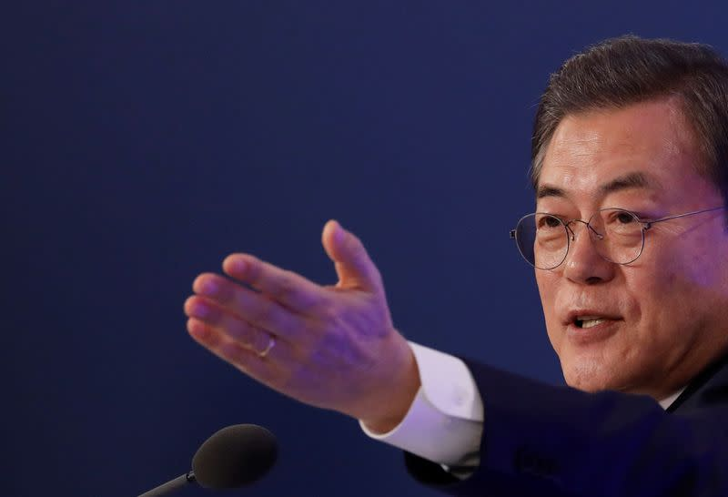 South Korea's Moon calls for full probe into online sexual blackmail ring