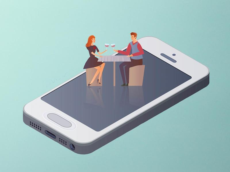 As physical meet-ups are off the table, get inventive with virtual dating instead: iStock