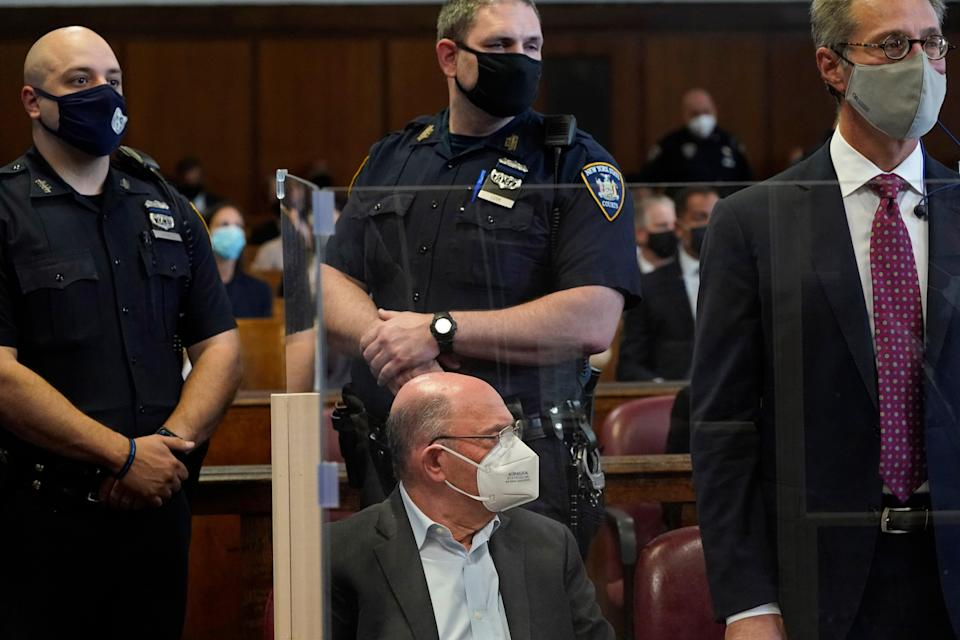 The Trump Organization's Chief Financial Officer Allen Weisselberg appears in court in New York, Thursday, July 1, 2021. Weisselberg was arraigned a day after a grand jury returned an indictment charging him and Trump's company with tax crimes. Trump himself was not charged.   (AP)