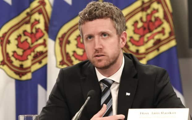 Premier Iain Rankin says Hants East MLA Margaret Miller has never come to him directly with concerns about the behaviour of someone now working in his office. (Communications Nova Scotia - image credit)