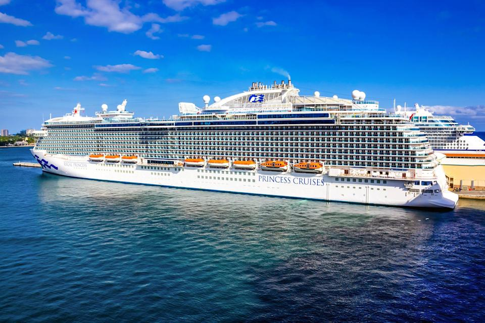 <p>Regal Princess will now sail around the UK</p> (Getty Images)