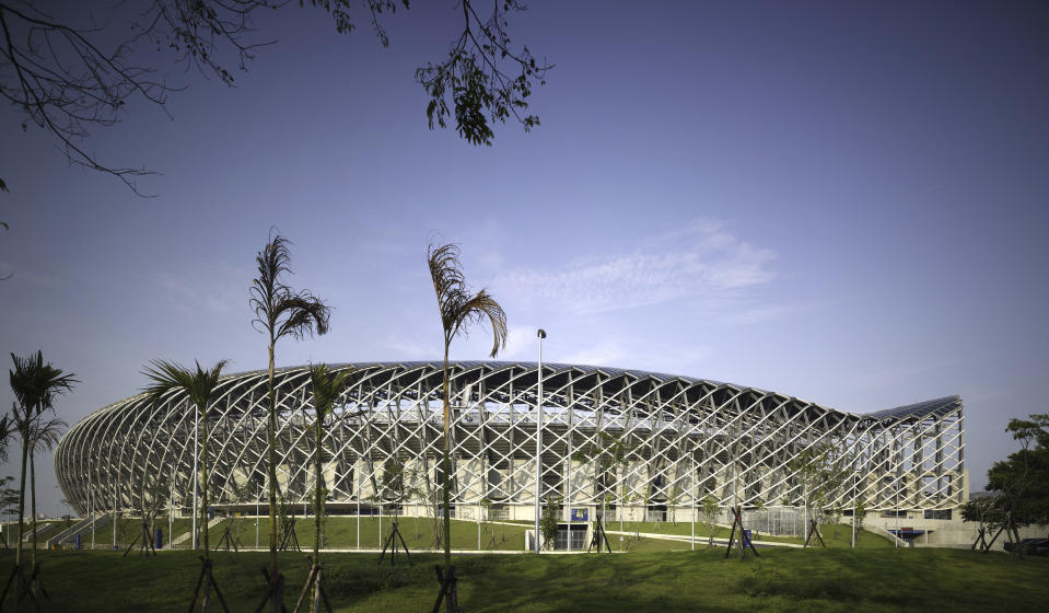Estádio de Kaohsiung. Foto: View Pictures/Universal Images Group via Getty Images