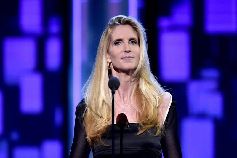 Fury: Ann Coulter (Getty Images)
